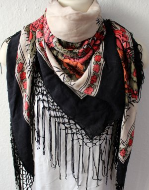 Pieces Shoulder Scarf multicolored