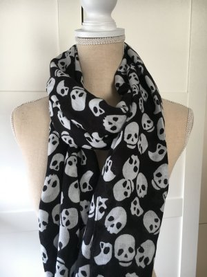 H&M Neckerchief black-white