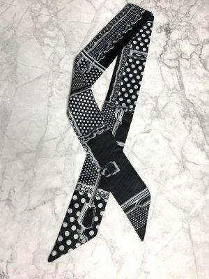 Neckerchief black-white