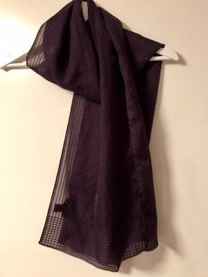Tie Rack Fazzoletto da collo blu-viola-viola scuro