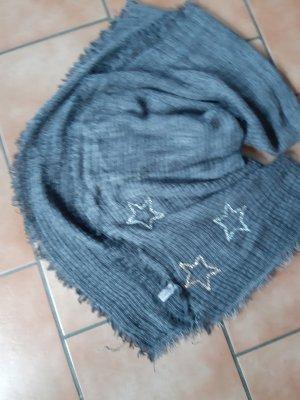 Cartoon Sciarpa di lana grigio scuro