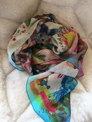 Christian Lacroix Foulard multicolore coton