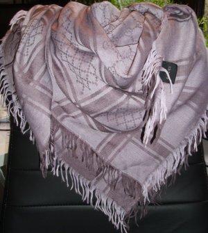 Gucci Fazzoletto da collo malva-viola-grigio Lana