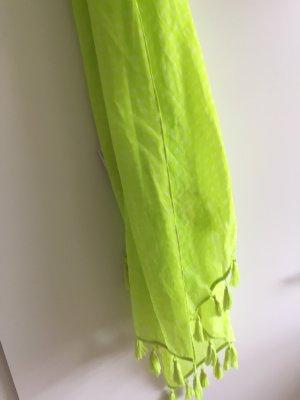 Hollister Pañoleta amarillo neón