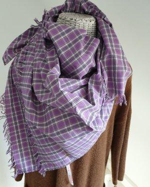 Marc O'Polo Neckerchief purple cotton
