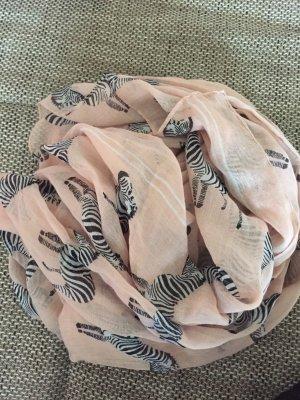 Tuch von pieces mit Zebra Design