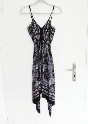 Tuchkleid leichtes Kleid Neu Primark Atmosphere 38 bunt Paisley Boho Ethno