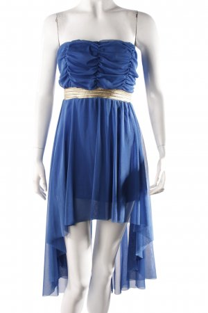 Tulle Empire Dress Blue