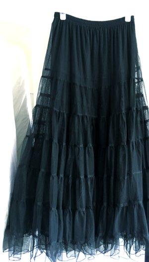 Tule rok zwart