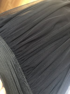 0039 Italy Tulle Skirt black