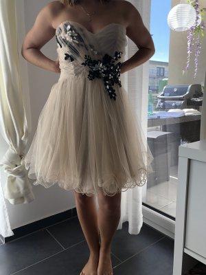 ASHWI Paris Evening Dress cream-black