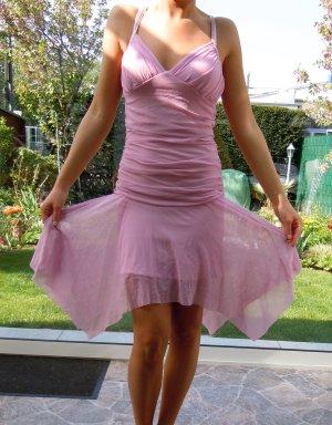 Tüllkleid Tütü Kleid Tüll rock Ballet Dress Danciers Keid pinkes Kleid rosa