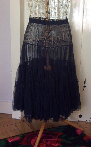 Bohemia Tulle Skirt dark blue