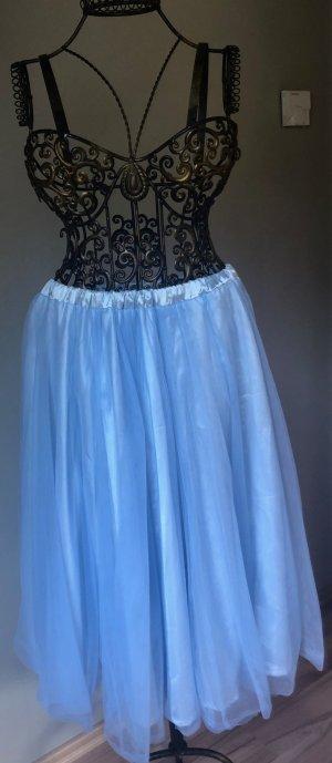 Tulle Skirt light blue