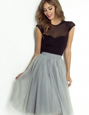 WOW Couture Jupe en tulle multicolore polyester