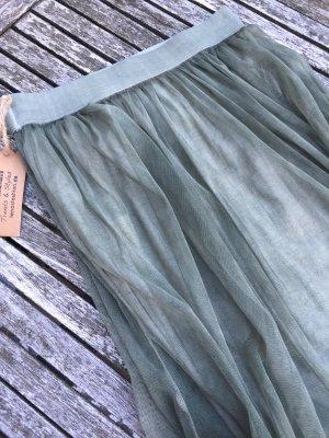 Tüllrock khaki