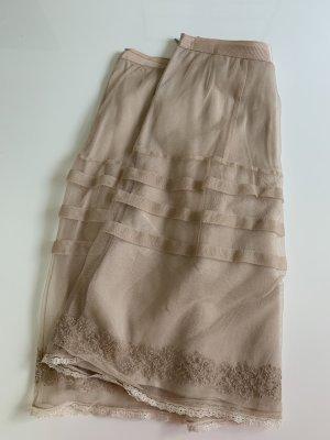 Noa Noa Tulle Skirt nude-cream