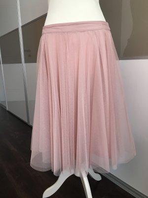 esprit collection Tule rok stoffig roze