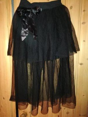 tüllrock schwarz Gr 36