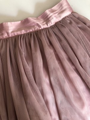 Glamorous Tulle Skirt dusky pink
