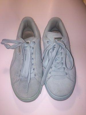Türkis Blau Puma Suede Sneaker Schuhe Gr. 36