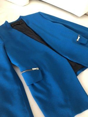 Zara Short Blazer blue-turquoise