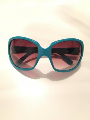 Türkis blaue Sonnenbrille