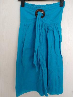 Türkis-blaues Sommerkleid