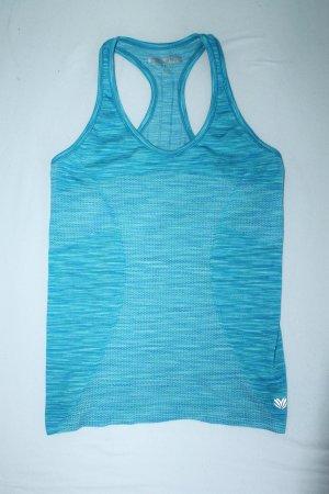 Türkis-blaues Sporttop / Gym / Fitness - Neu