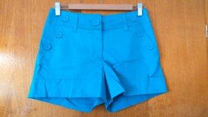 türkis glänzende Shorts von H&M