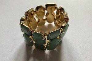Türkis-goldenes Armband