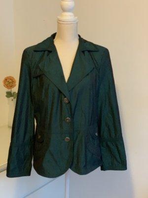 Türkis grüne kurze Jacke von Biba Übergangsjacke