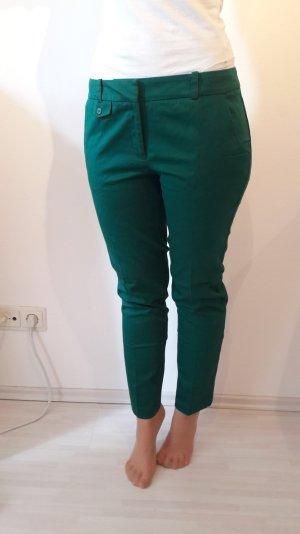 Türkis-Grüne Stoffhose