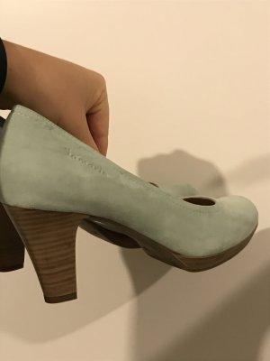 Türkis Heels bzw Pumps