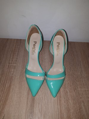 & other stories Pointed Toe Pumps turquoise