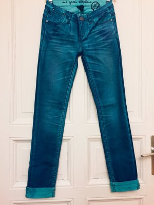 One green elephant Jeans taille basse multicolore