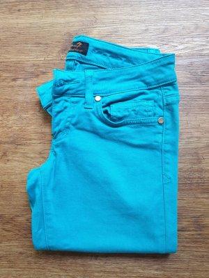 Seven7 Slim jeans lichtblauw-turkoois