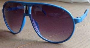 Türkisblaue Sonnenbrille