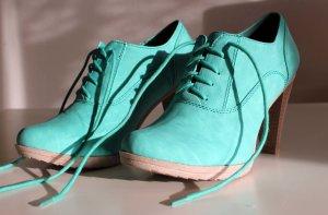 Türkise Ankle Boots Gr.38