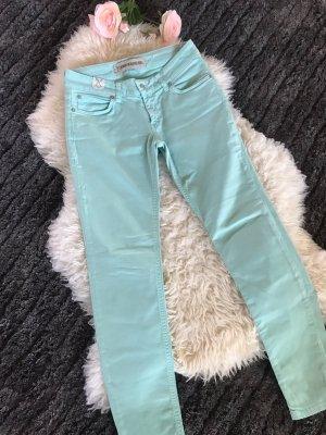 Türkise drykorn jeans