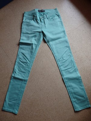 Madonna Drainpipe Trousers turquoise-mint