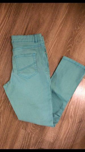 Blue Motion Pantalon strech turquoise