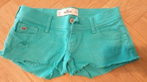 Türkise Hot Pants von Hollister in 24