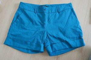Short cadet blauw-turkoois