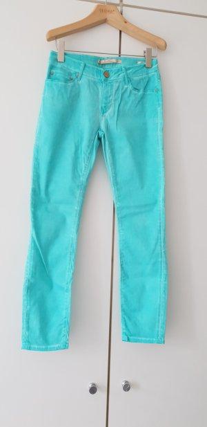 Türkise Jeans von Zara Premium