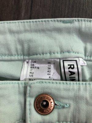 Rainbow Stretch jeans turkoois
