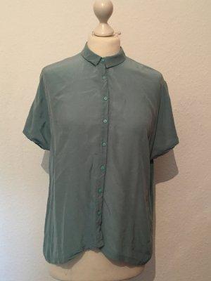 Türkise / minzgrüne Bluse von Zara Collection NEU
