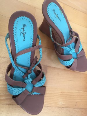 Türkise Sandalen von Pepe Jeans