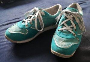 türkise Sneakers von Even&Odd Gr.37