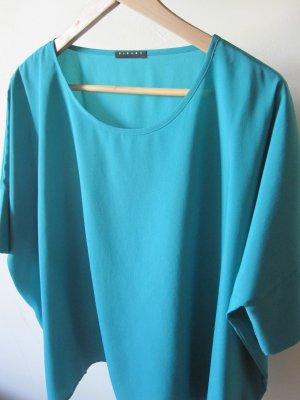 Türkise Tunika Bluse von Sisley in Größe S